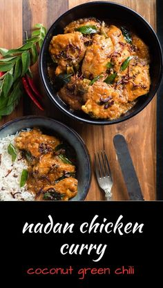 Check out this Nadan chicken curry or nadan kohzi is an Indian curry with big coconut, spice and green chili flavours. The post Nadan chicken curry or nadan kohzi is an Indian curry with big coconut, spice an… appeared first on Trupsy . Indian Food Recipes, Asian Recipes, Ethnic Recipes, Barbacoa, Tandoori Masala, Chana Masala, Pesto, Indian Chicken, India Food