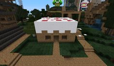 minecraft homes | Minecraft Cake House by ~YummyPepsi on deviantART