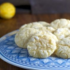 Lemon Crinkle Cookie...turned out good..! soft cookies..yumm.!!
