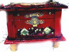 WOOD JEWELRY KEEPSAKE  wedding, trinket, memory box, valentines day by wowitems4less