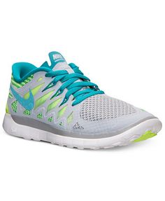 Nike Girls' Free 5.0 2014 Running Sneakers from Finish Line