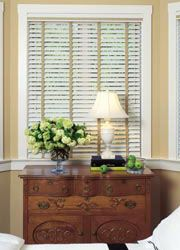 """Check out this great Faux Wood Blinds - M 2"""" Polymer Blinds on AmericanBlinds.com – make those windows beautiful!"""