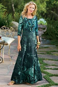 Midnight Garden Dress from Soft Surroundings