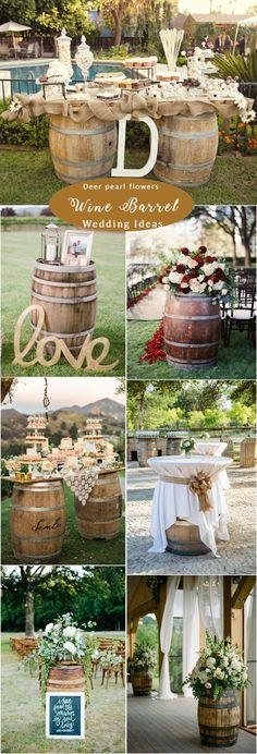 Rustic Woodsy Wedding Decor Ideas for 2019 Woodsy Wedding, Rustic Wedding Signs, Farm Wedding, Wedding Ideas, Autumn Wedding, Trendy Wedding, Wedding Inspiration, Wine Barrel Wedding, Flowers Wine