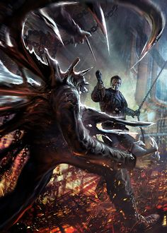 30 Awe-Inspiring Examples of Digital Illustration Artwork Horror Films, Horror Art, Fate Movie, Splash Art, Terminator Movies, Skynet Terminator, Predator Alien, Wolf Predator, Mystery