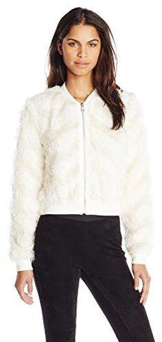 BCBGMAXAZRIA Women's Rei Knit Sportwear Jacket