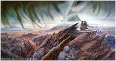 Mount Doom by John Howe