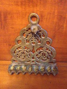 Antique RARE 19th Century North African Hanukkah Menorah Bird Motif Judaica WOW | eBay