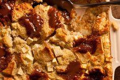 Caramel, Apple, and Cinnamon Breakfast Casserole
