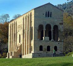 Santa María del Naranco Church, Oviedo, Asturias - Spain