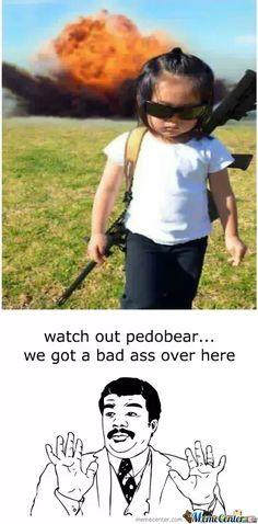 run pedobear....