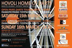3o OPEN DARTS TOURNAMENT - 15 & 16/3/2014 http://www.kerkyra.net/events/index.asp?PageId=44&ArticleID=797