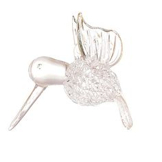 Christmas Holiday Hummingbird Glass Gift Hanging Ornament for Christmas Xmas Tree Decorations *** Visit the image link more details.