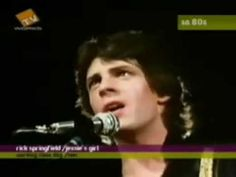 all of us wanted to be RICK'S girl back then..the .heck with Jesse lol.  Rick's still handsome, hot, sexy and can still sing and rock. I'd love to see him back on GH SOON! ▶ Jessie's Girl-Rick Springfield - YouTube