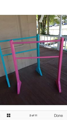 Portable Dance Ballet Bar Wood