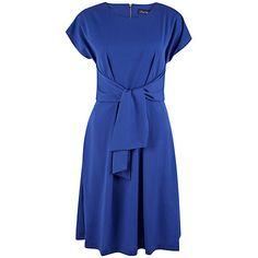 Closet Short Sleeve Dress Blue