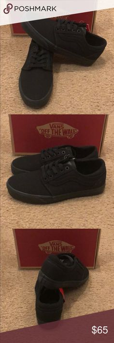 Canvas Cordova + Vans New in box. Black Vans Shoes Sneakers