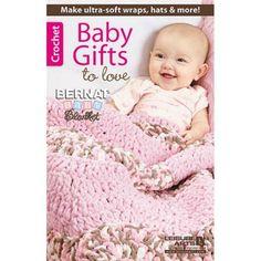 Bernat® Baby Gifts to Love—Featuring Bernat Baby Blanket yarn Crochet Book - Herrschners