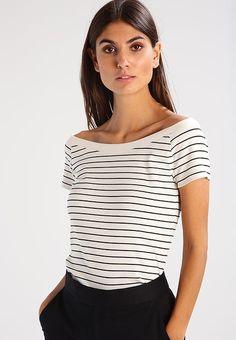 Lauren Ralph Lauren JASLEEN - T-shirt con stampa - herbal milk/polo black - Zalando.it
