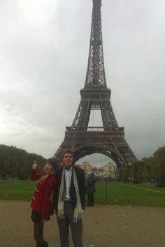 Taylor Swift in Paris with her brother Austin
