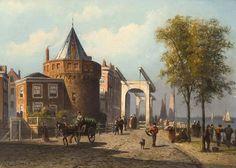 Prins Hendrikkade, Schreierstoren 1870