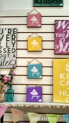 Vibrant Imagery: Easter Signs