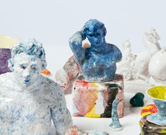 on at Niagara Gallery at the moment is the humble ceramic efforts of Stephen Benwell