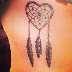 #dreamcatcher #tattoo #girlswithtattoos