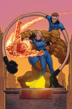 fantastic 4: issue 579 t.h.a. by ~johntylerchristopher on deviantART