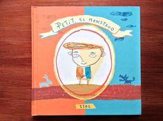 Petit El Monstruo de Isol    #isol #ocholibros #book #libro #illustration #ilustracion #infantil #kids