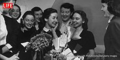 """In 1950, 21-year-old Peggy Cross would have been referred to as a """"bachelor girl,"""" as the term bachelorette hadn't yet taken off."""