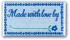 Sewing Labels Quilting Labels Lovelabels by GabbysQuiltsNSupply, $2.25