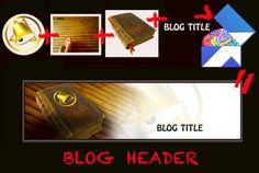 Blog header Header, Photoshop, Blog, Blogging