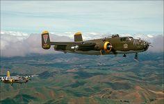 B-25s in flight. | Flickr - Photo Sharing!