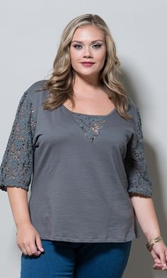 Chelsea Top $59.90 by SWAK Designs #swakdesigns #PlusSize #Curvy