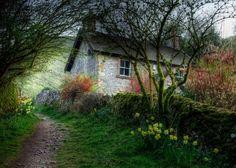 """petitpoulailler: """"austenstudent: It's Barton Cottage from Jane Austen's Sense & Sensibility. """""""