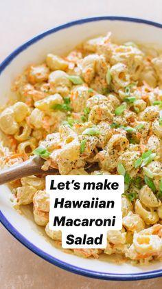 Quick Pasta Recipes, Pasta Salad Recipes, Quick Meals, Dinner Recipes, Healthy Macaroni Salad, Summer Pasta Salad, Summer Salads, Summer Pasta Dishes, Pasta Side Dishes