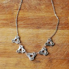 Delta 5 Bike Chain Necklace - Keen Cyclists - Personality - Christmas Gift Guide - The Lost Lanes