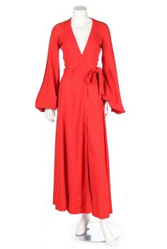 One Item - Kerry Taylor Auctions Ossie Clark, Bell Bottoms, Yves Saint Laurent, 1970s, Street Wear, Auction, British, Fabric, How To Wear