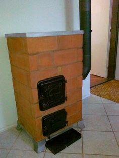 Hordozható Téglakályha Design Case, Stoves, Four, Rockets, Police, Home Appliances, Pottery, Home Decor, Wood Stove Wall