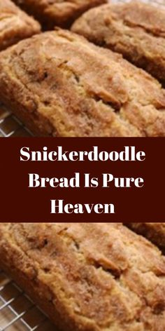 - Snickerdoodle Bread Is Pure Heaven Brownie Recipes, Cookie Recipes, Dessert Recipes, Snickerdoodle Bread, Friend Recipe, Baked Chips, Bread Baking, Baking Soda, Perfect Food