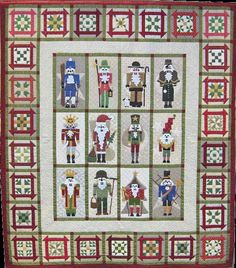 Quilt Inspiration: 'Tis the season: Classic Nutcrackers and Gingerbread Joy