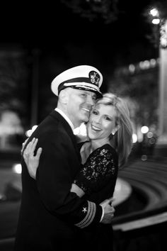 A surprise proposal at the Navy Memorial in Washington, DC