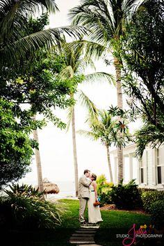 Florida Wedding - Key West Florida Weeing Photographs by Studio Julie.