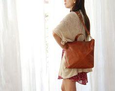 Brown leather tote, large brown shoulder bag, brown cross body bag brown, leather backpack for women Brown Leather Backpack, Brown Leather Totes, Leather Tassel, Leather Bag, White Leather, Convertible Backpack, Large Shoulder Bags, Distressed Leather, Beautiful Bags