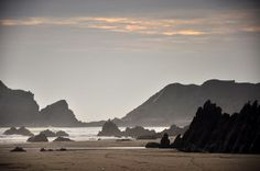 Marloes sands in Pembrokeshire