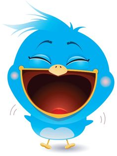 bird, laugh