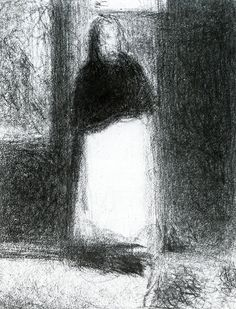 The Concierge Georges Seurat - circa 1884