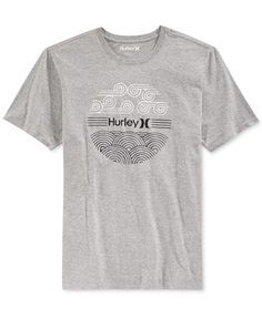 Hurley Men s Windward Premium Graphic-Print T-Shirt Men - T-Shirts - Macy s 2452d9d84a6
