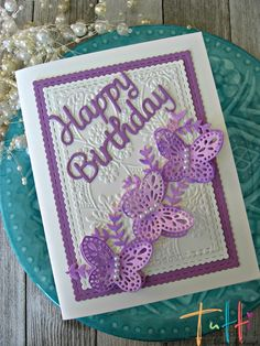 Hi everyone! Laurie here from Stamping Up North. Today I'm sharing a Birthday card featuring Tutti Designs Butterfly Strip. ...